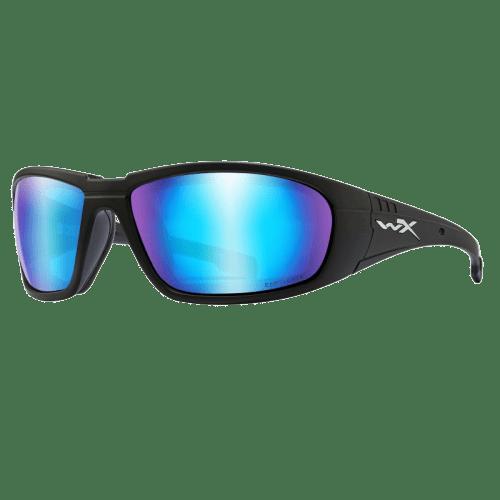 WILEY X CAPTIVATE POL BLUE MIRROR/MATTE GREY FRAME | eBay